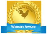 chicken website award