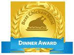 chicken recipe award