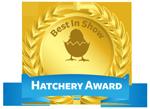 chicken hatchery award